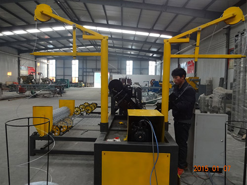 Full Automatic Chain Link Fence Machine