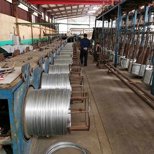 Electro Galvanized Wire Production Line